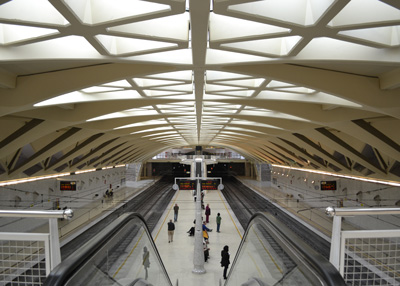 Metro station Alameda Valencia