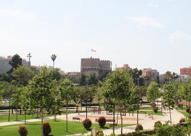 Turia Park Torres de Serranos