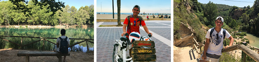 This is Benjamin from Once Upon a Bike in Valencia. Join him on one of our tapas or bike tours!