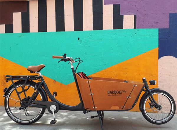 Bicicleta de carga eléctrica Babboe