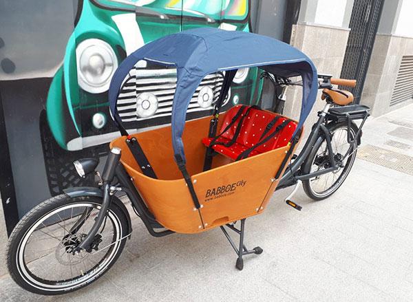 Alquiler Cargo bike eléctrica Babboe