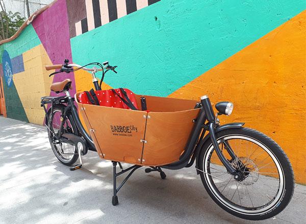 comprar Cargo bike eléctrica Babboe en Valencia