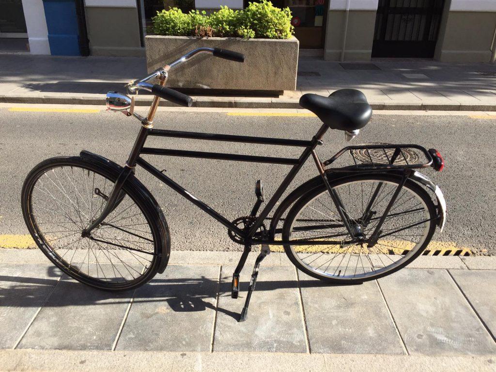 Bicicleta de segunda mano